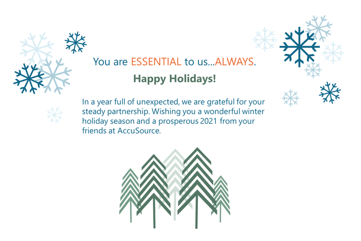 AccuSource Winter Holiday Message 2020
