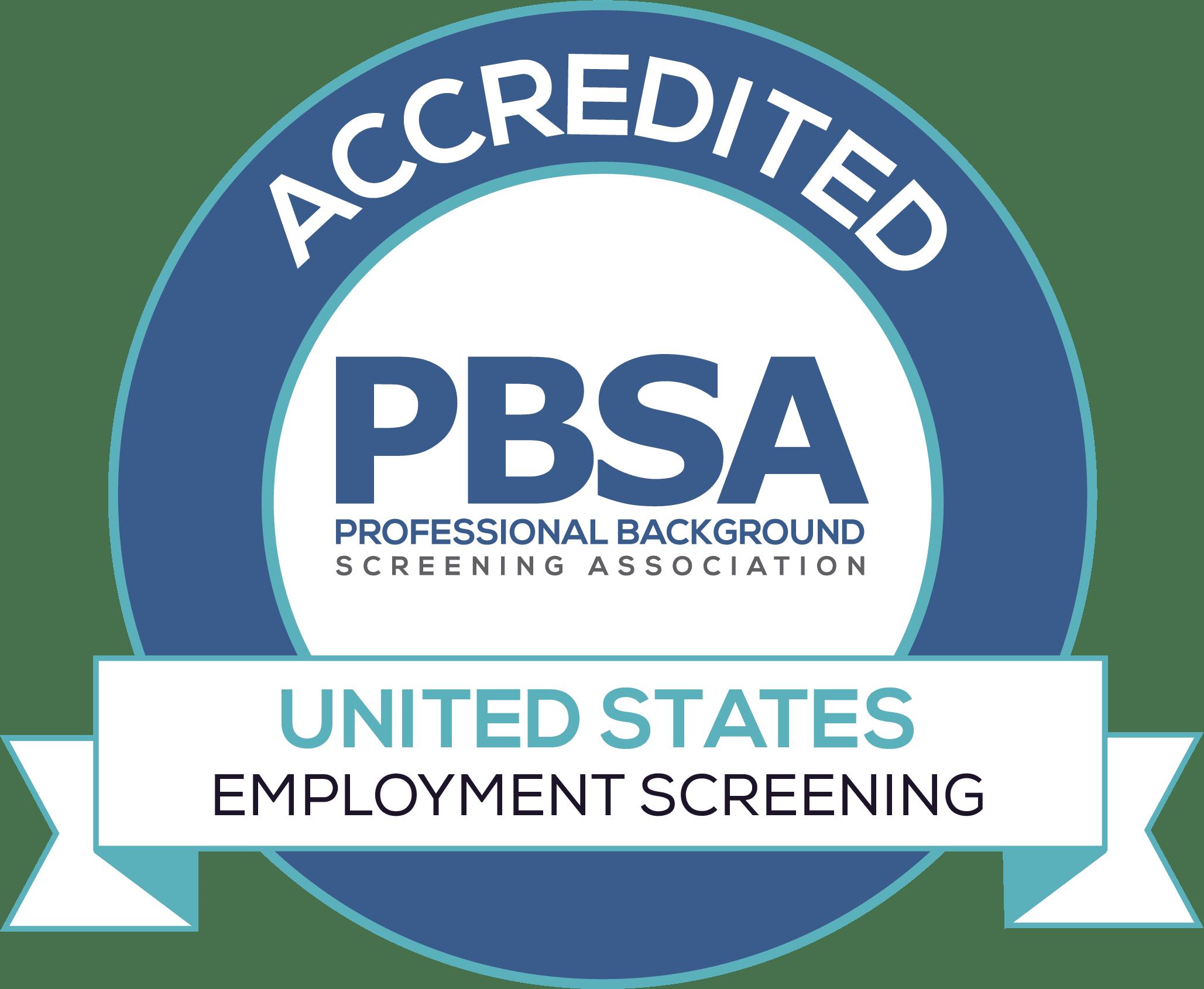 PBSA Accreditation Seal