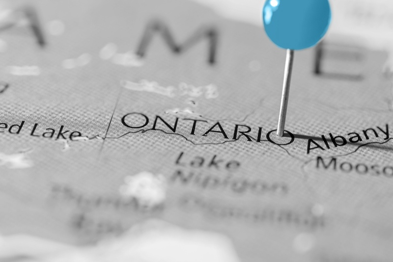 ontario-canada-pin-on-map